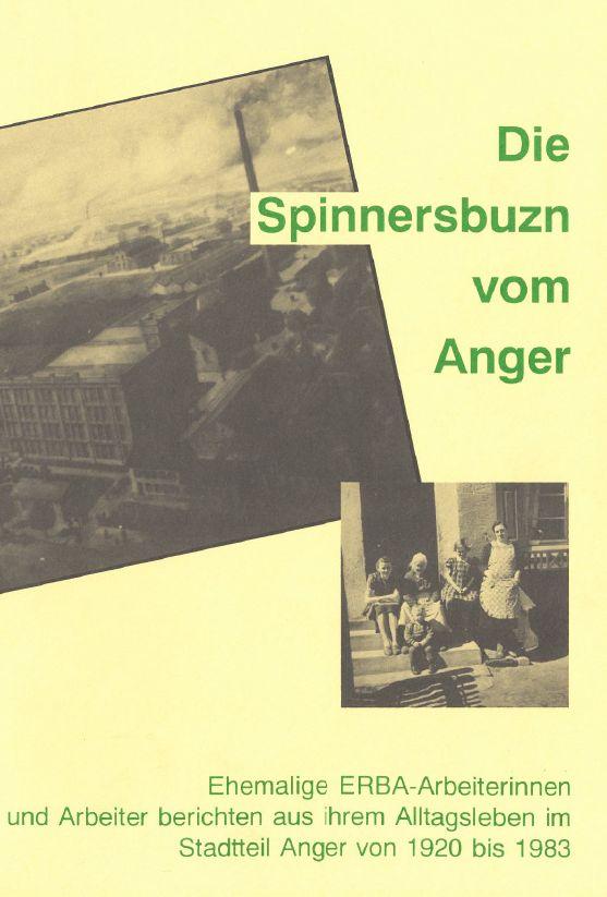 Titelbild des Buchs zur Anger-Geschichte
