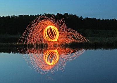 Feuerkreis - Bild von Karin Günther