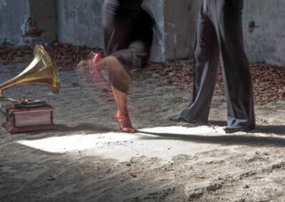 Tanzendes Paar - Bild von Ulrike Wiese