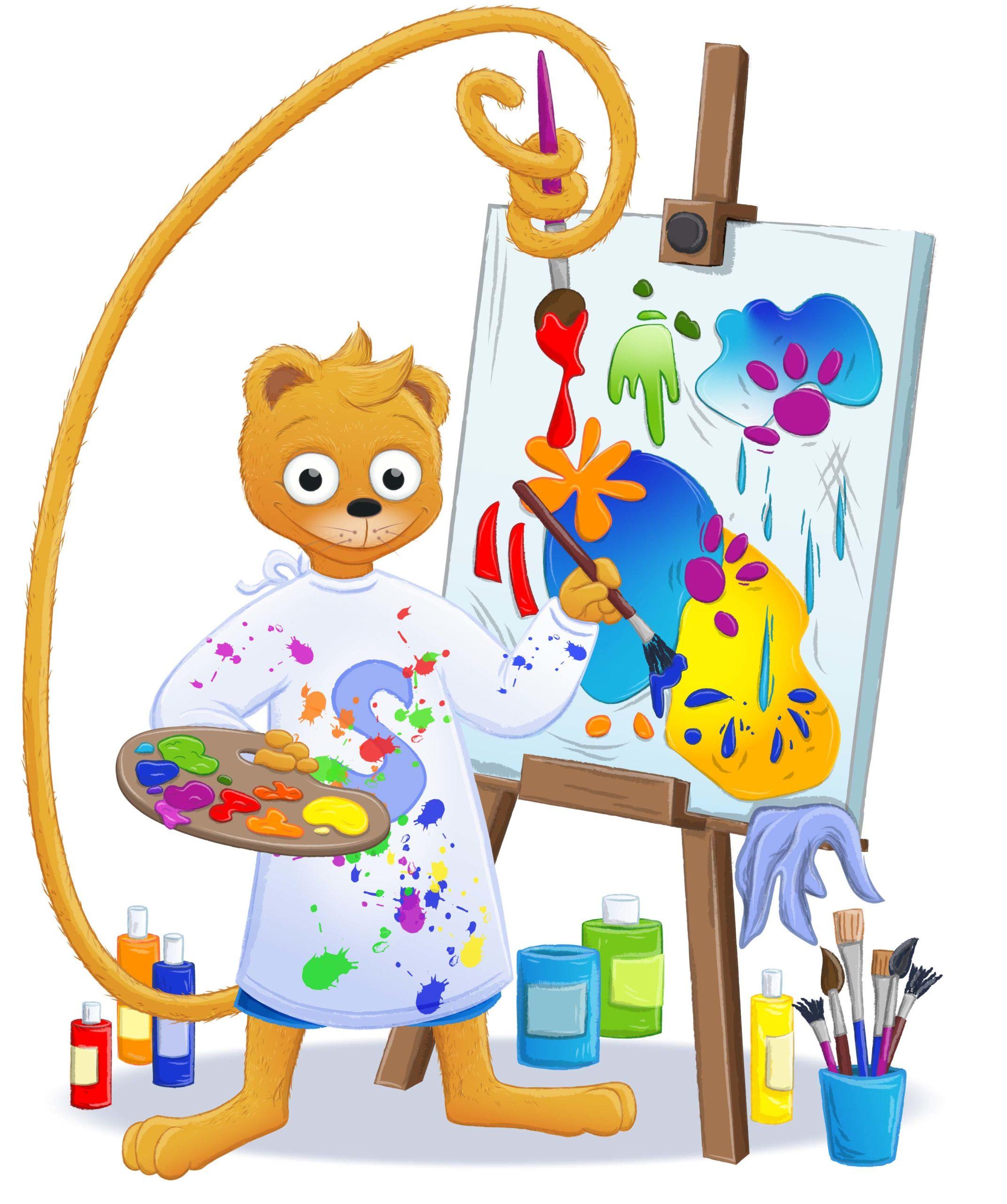 Cover des Ferienprogramms mit dem Simson-Bären