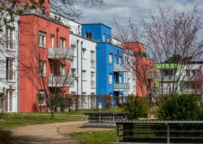 Anne Neumann - Bunte Häuser - Goerdelerstraße