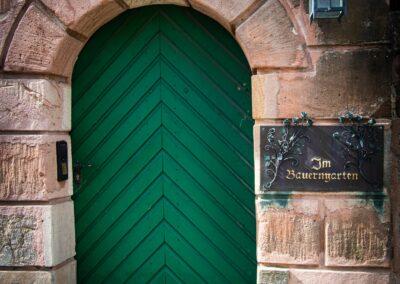Anne Neumann - Tür zum Bauerngarten - Leipziger Straße