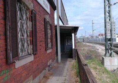 Manfred Müller - ehemaliger Zugang - Brucker Bahnhof
