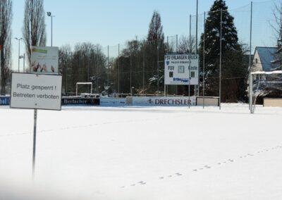 Reinhard Heydenreich - Ein Sportverein im Winterschlaf - Tennenloher Straße