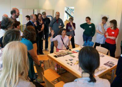 Schlussdiskussion mit Susanne Hofmann von den Baupiloten