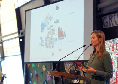 Baupilotin Luisa Rubisch stellt die Ergebnisse vor